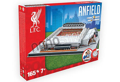 Official Liverpool Anfield Stadium 3D Model Puzzle Licensed Product