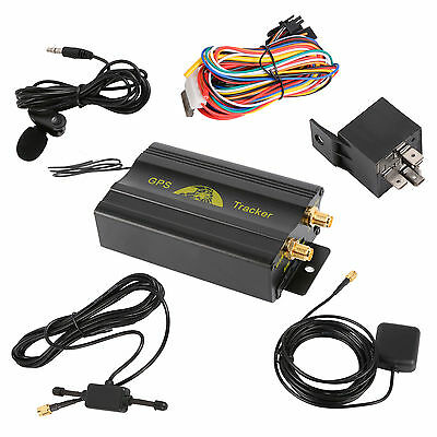 Hot Mini GSM SMS Vehicle Car GPS Tracker Tracking Device TK103A Alarm System VG3