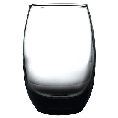 Bellize Highball Glass Smoke Grey 450ml - Set of 12 - Tall Tumblers