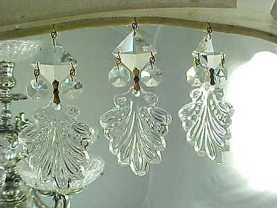 10 Stunning Acanthus Leaf With Lead Crystal Multi Drop Prisms Awesome Rainbows