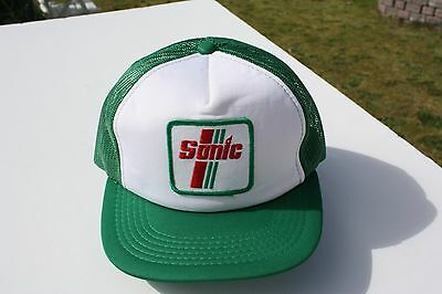 Ball Cap Hat - Sonic - Oil Gas Fuel Station (H1484)