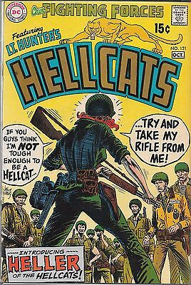 Our Fighting Forces #121 Hellcats (Fn) Silver Age Dc War