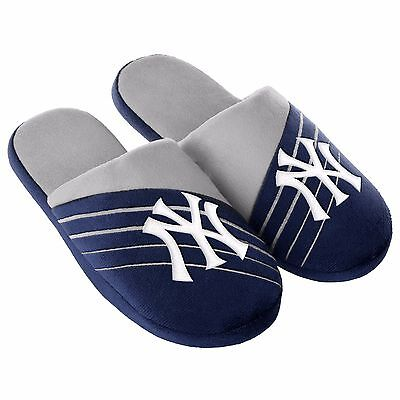 Pair New York Yankees Big Logo Slide Slippers Team Color House shoes BLG16 Style