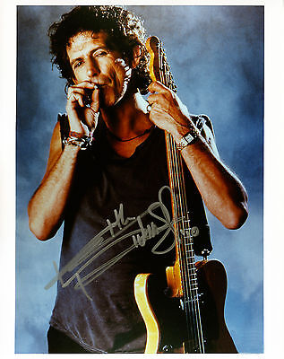 REPRINT - KEITH RICHARDS 1 Rolling Stones autographed signed photo