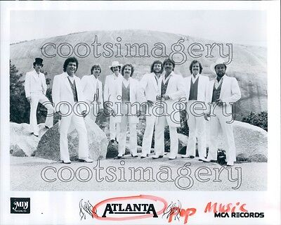 1984 Country Music Band Atlanta 1980s Press Photo