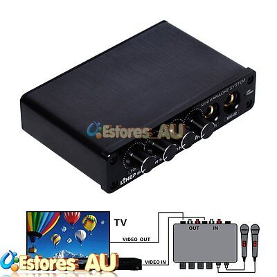 【AU】LineP A933 Mini Mixer Cara OK TV/Computer/Mobile Phone Sound Console System
