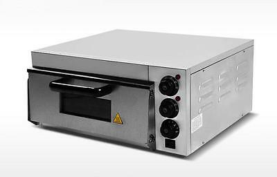 Commercial Electric Pizza Oven With Timer for Making Bread, Cake, Pizza 220V E