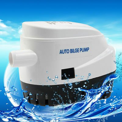 ECO DC12V 750 GPH Automatic Submersible Boat Bilge Pump W/ Float Switch