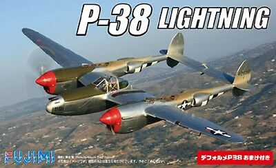 FUJIMI 14426 P-38 Lightning (2 Kits) in 1:144