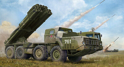 Trumpeter Models 1/35 Russian 9A52-2 Smerch-M Multiple Rocket
