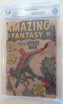 AMAZING FANTASY  15  CBCS 1.0  -   Most affordable unrestored complete copy!