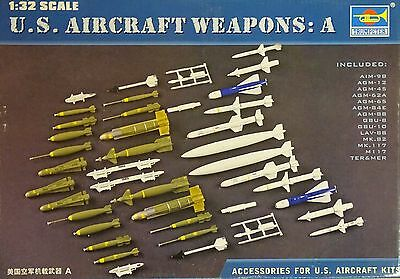 TRUMPETER® 03302 US Aircraft Weapon Set A in 1:32
