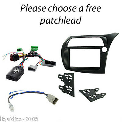 CTKHD01 HONDA Civic 2006> Car Stereo Double Din Fascia Replacement Fitting Kit