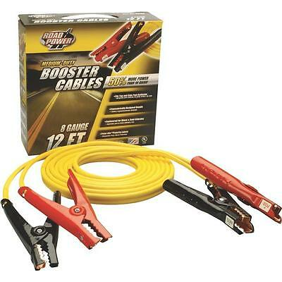 12-FOOT Road Power 8-Gauge 200-Amp Booster Cables