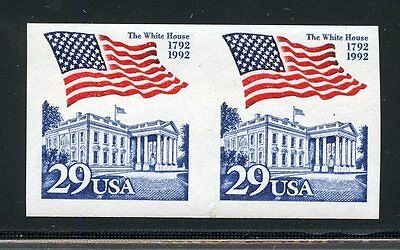 UNITED STATES SCOTT#2609a IMPERFORATE PAIR MINT NEVER HINGED