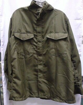 Us Military Green Hot Weather Fire Resistant Nylon Flyers Shirt/pants Used Og106