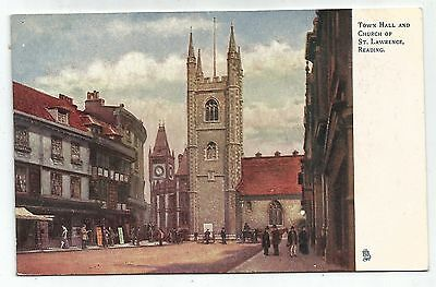england berkshire postcard reading