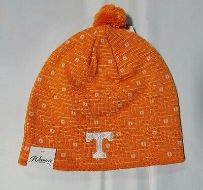 9d99a2ff070 Tennessee Volunteers Knit Beanie Toque Winter Hat skull cap NEW NCAA Pom Pom