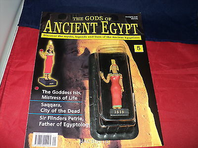 Hachette The Gods of Ancient Egypt - Issue 5 - The Goddes Isis mistress of life