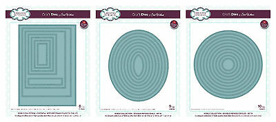 Creative Expressions - Sue Wilson Noble Dies - Rectangles, Circles - New 2016