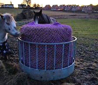 GREEDY FEED ROUND BALE 6ft. HAYLAGE JUMBO SLOW FEEDERS HAYNETS Best Quality SALE