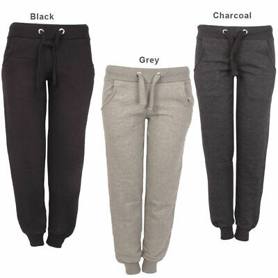 Womens Ladies Drawstring Sweatpants Joggers Tracksuit Bottoms Size S M L Xl