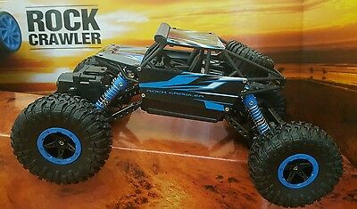ROCK CRAWLER MONSTER TRUCK 2.4GHZ RECHARGEABLE Radio Remote Control BUGGY 4WD