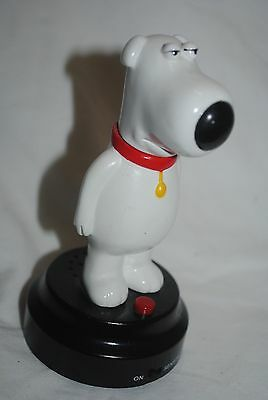 "Family Guy, Brian, talking dog figure, 5.5"" tall"
