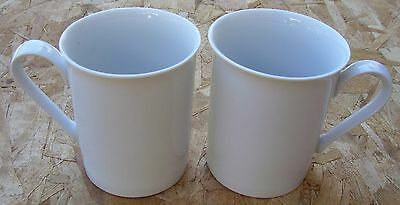 2 Block Ionia Greece Athens White Coffee Mugs Cup