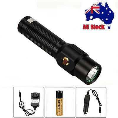 Rechargeable 5000LM CREE XML T6 LED Mini Tactical Flashlight 18650 Torch Hunting
