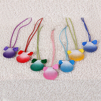 New Anime Mermaid Melody Pichi Pichi Pitch shell necklace colorful cosplay prop