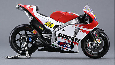 1:18 #29 Diecasting Model MotoGP Race Bike For DUCATI Andrea Dovizioso Kids Gift