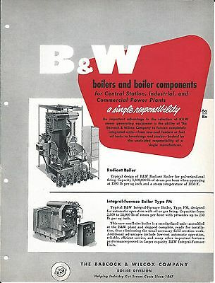 Equipment Brochure - Babcock & Wilcox Boiler Components Tubing 2 item (E3313)