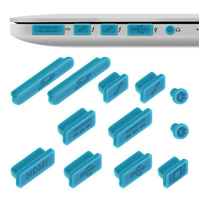 """kwmobile  DUST PROTECTION SET FOR APPLE MACBOOK PRO 13"""" 15"""" RETINA AIR 11"""""""