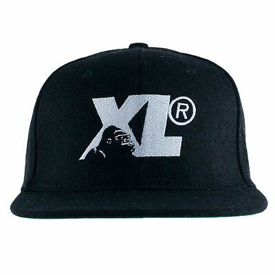 X-Large Clothing Gorilla Cameo Strapback Hat Black Snapback New Free Delivery