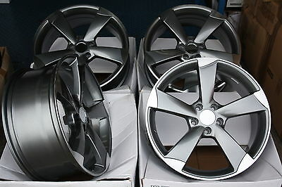 "17"" Alloy Wheels Fits Vw Caddy Cc Eos Golf Passat Scirocco Touran T4 Tt Rs Gmf"