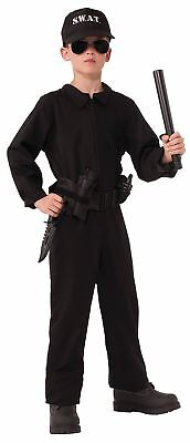 Combat Hero Special Ops Uniform Policeman Police Man Officer Child Boys Costume