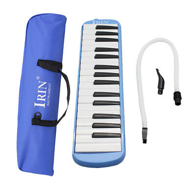 32Keys Melodica Harmonica Piano Keyboard Type Portable Music Instrument Blue