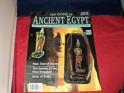 Hachette The Gods of Ancient Egypt - Issue 62 - Baal God of storms
