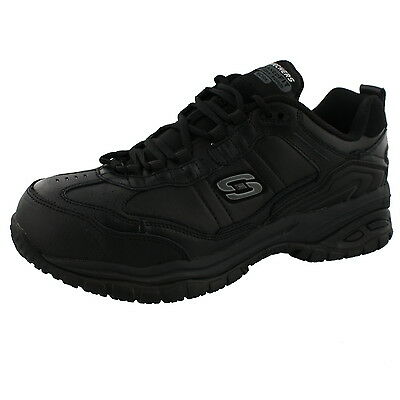 Men's Skechers Soft Stride-Chatham Composite Safety Toe Wide Width Work Shoes
