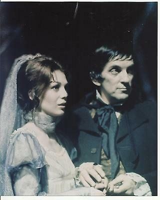 Jonathan Frid is Barnabas Collins with Katherine Leigh Scott Maggie 8 x 10 Photo