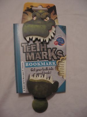 Teeth Marks  Bookmark - Choice Of 3 Designs