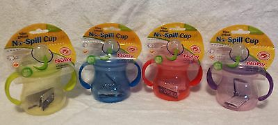 New Nuby No Spill Cups 10 Oz