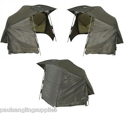 Carp Kinetics Fishing 60in  Day Shelter Umbrella /  Fishing Brolly System