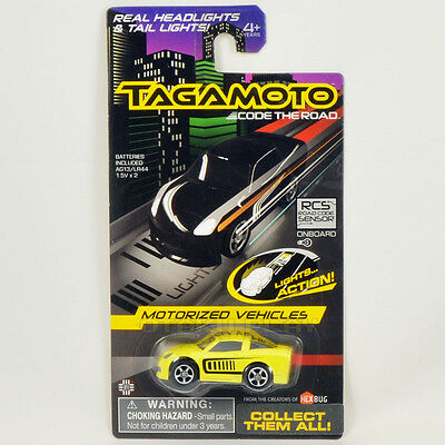 Tagamoto Code The Road Motorized Vehicles Flash With Lights Brand New