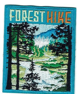 Boy Girl FOREST HIKE hiking Fun Patches Crests Badges GUIDES SCOUTS in the woods