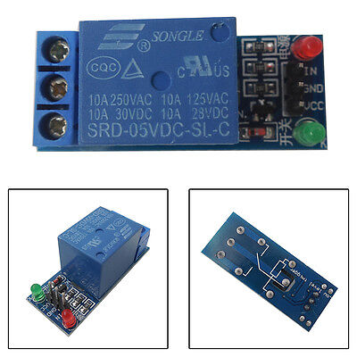 1 Channel 5V Relay Module Shield for Arduino uno 1280 2560 ARM PIC AVR DSP STM32