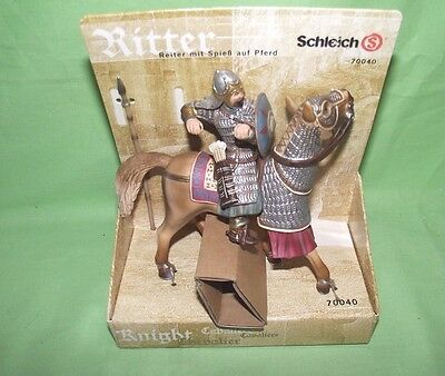 SCHLEICH Mounted Knight 70040 Mint on card
