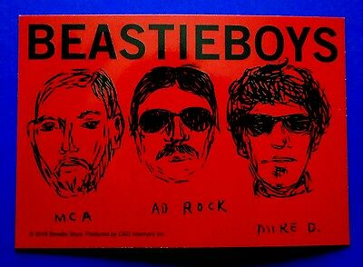 BEASTIE BOYS police sketch STICKER Free Shipping paul's boutique check your head