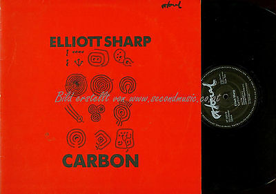 LP--Elliott Sharp ‎– Carbon // GERMANY
